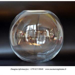 apvali-stiklo-vaza-indas