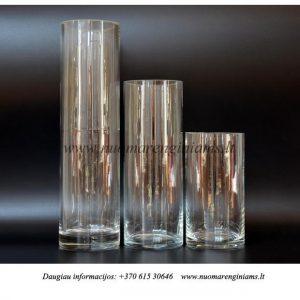 stiklines-cilindrines-vazos-triju-dydziu